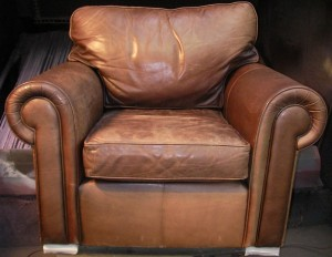 Aniline Leather Armchairs
